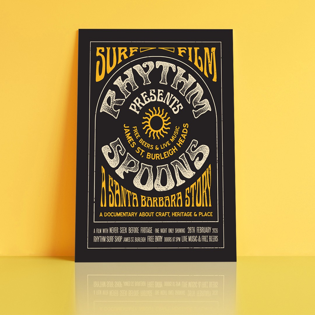 Posters and Signage Hero – Rythm Spoons